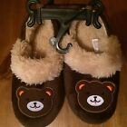 Toddler Teddy Bear House Shoes Toddler sizes Sm 5 6 LG 9 10
