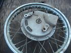 TRIUMPH BONNEVILLE TIGER TROPHY DAYTONA T120 T100 FRONT WHEEL RIM W/ DRUM BRAKE