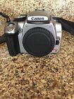 Canon EOS Digital Rebel XT EOS 350D 80MP Digital SLR Camera Black Body On