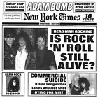 ADAM BOMB & GUESTS New Sealed Lt Ed 2017 NEW YORK TIMES CD