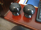 Fiesta Ware New salt and pepper shakers  Black  Perfect Condition
