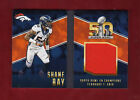 2016 PANINI Preferred Shane Ray SUPER BOWL BOOKLET BOOK PATCH JERSEY Card 199