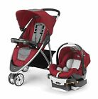 Chicco Viaro Travel System, Cranberry
