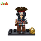 Pirates of the Caribbean Captain Jack Sparrow Minifigure Lego compatible
