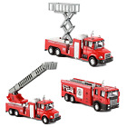 Diecast Fire Truck Engine Pullback Friction Toy 132 Scale Emergency Vehicles S