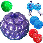 2 pcs 36 Diam Blue Buddy Bumper Ball Inflatable Bubble Soccer Kids Outdoor Toy