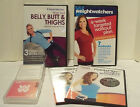 Weight Watchers Workout DVD Lot With Weight Watchers Mix and Flip Exercise Cards