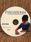 Tapestry of Grace Rhetoric Evaluations CD Year 4