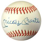 Mickey Mantle Authentic Autographed Signed AL Baseball New York Yankees PSA DNA
