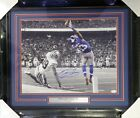 Odell Beckham Jr. Autographed Signed Framed 16x20 Photo New York Giants JSA