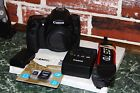 Canon EOS 70D 202MP DSLR Camera Black Body Only Shutter count only 85