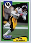 1994  ROD WOODSON - Kenner Starting Lineup Card - PITTSBURGH STEELERS