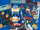 Jolees Babys First Birthday Scrapbooking Stickers Lot Balloons Party Cake Card
