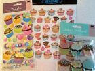 Jolees Cupcakes Scrapbooking Stickers Lot Sticker King Birthday Party Cards