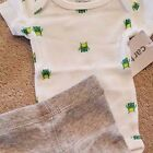 SWEET NEW CARTERS PREEMIE 2PC GREEN MONSTER OUTFIT REBORN