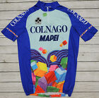 COLNAGO MAPEI genuine vintage HIGH QUALITY cycling JERSEY XL