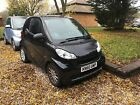 2010 SMART 451 FORTWO PASSION MHD AUTO BLACK 60 plate