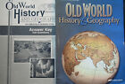ABEKA Old World History  Geography Text Maps  Activities Keys GRADE 5 NEW