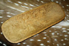 Carved Wooden Dough Bowl Primitive Wood tray Trencher Rustic Home Decor 20 inch