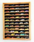Hot Wheels Matchbox Display Case Cabinet w 98 UV Protection Door Model Cars