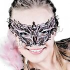High quality Venetian Mask Metal Hand Made in Italy lacquered Glitters Clubwear