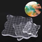 Process Block Scale Acrylic Pad Transparent Stamp Scrapbooking Essential Tools