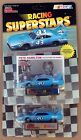 (2) NASCAR RACING SUPERSTARS  PETE HAMILTON STOCK CAR COLLECTOR CARD AND STAND