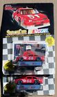 (2) NASCAR RACING CHAMPIONS CALE YARBOROUGH STOCK CAR COLLECTOR CARD AND STAND