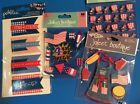 Jolees Fourth Of July Scrapbooking Stickers Lot Pebbles Patriotic Cookout Flag