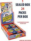 2017 Topps Archives Baseball Hobby Edition Factory Sealed 24 Pack Box