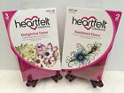 Lot Set Heartfelt Creations Die+Stamp Delightful Daisy+Feathered Daisy 760+3657