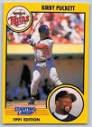 1991  KIRBY PUCKETT - Kenner Starting Lineup Card - MINNESOTA TWINS