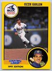 1991  OZZIE GUILLEN - Kenner Starting Lineup Card - CHICAGO WHITE SOX