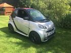 2014 SMART FORTWO GRANDSTYLE EDITION SILVER leather 84bhp turbo convertible