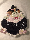 Fitz and Floyd Halloween Witch Plate Dish 1992 EUC