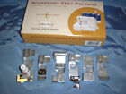8 pc BABYLOCK Ovation 8 Piece feet Set BONUS CLEAR Foot + QUILT Guide Serger