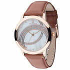 YVES CAMANI Arcenciel Womens Watch Rosegold Plated Dial Mother Of Pearl New