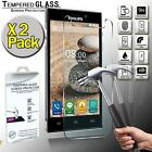 2 Pack Real Tempered Glass Screen Protector Cover For Philips Xenium V787