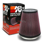 KN KN RU 3050 ROUND TAPERED PERFORMANCE AIR INTAKE FILTER 6FLANGE 8HEIGHT