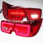 2012-2014 year LED Turn lights For CHEVROLET Malibu LED Stirp Back Lamps Red WH