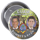 RARE Collectors Item Guam for Romney and Ryan Button by Bold Concepts
