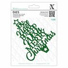 Docrafts Xcut Christmas Word Tree Die Cards Holiday