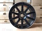 19 MERCEDES BENZ AMG BLACK E63S RIMS WHEELS E CLASS E320 E350 E500 E550 SL55