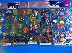 Sticko Birthday Scrapbooking Stickers Packages Lot Candles Hats Cupcakes Cards