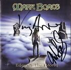 MARK BOALS Edge of the World, VINNY APPICE Dio Black Sabbath CD Autograph SIGNED