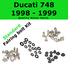 Fairing Bolt Kit body screws fasteners for Ducati 748 1998 - 1999 Stainless 916