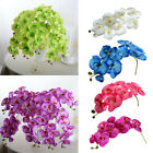 Artificial Butterfly Orchid Silk Flower Bouquet Phalaenopsis Wedding Home Decor