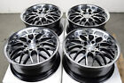17 5x120 Black Wheels Fits BMW 323 325 135 318 328 Cadillac CTS 3 Series Rims