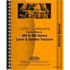 New Service Manual For Allis Chalmers 314 Lawn & Garden Tractors