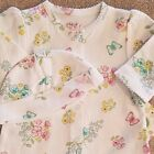 DARLING NEW LITTLE ME PREEMIE 2PC BUTTERFLY FOOTED OUTFIT REBORN W HAT
